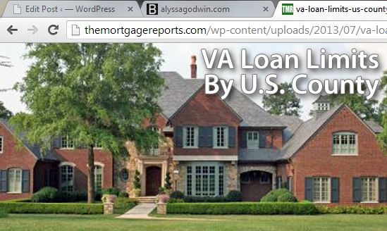 New, Higher VA Loan Limits