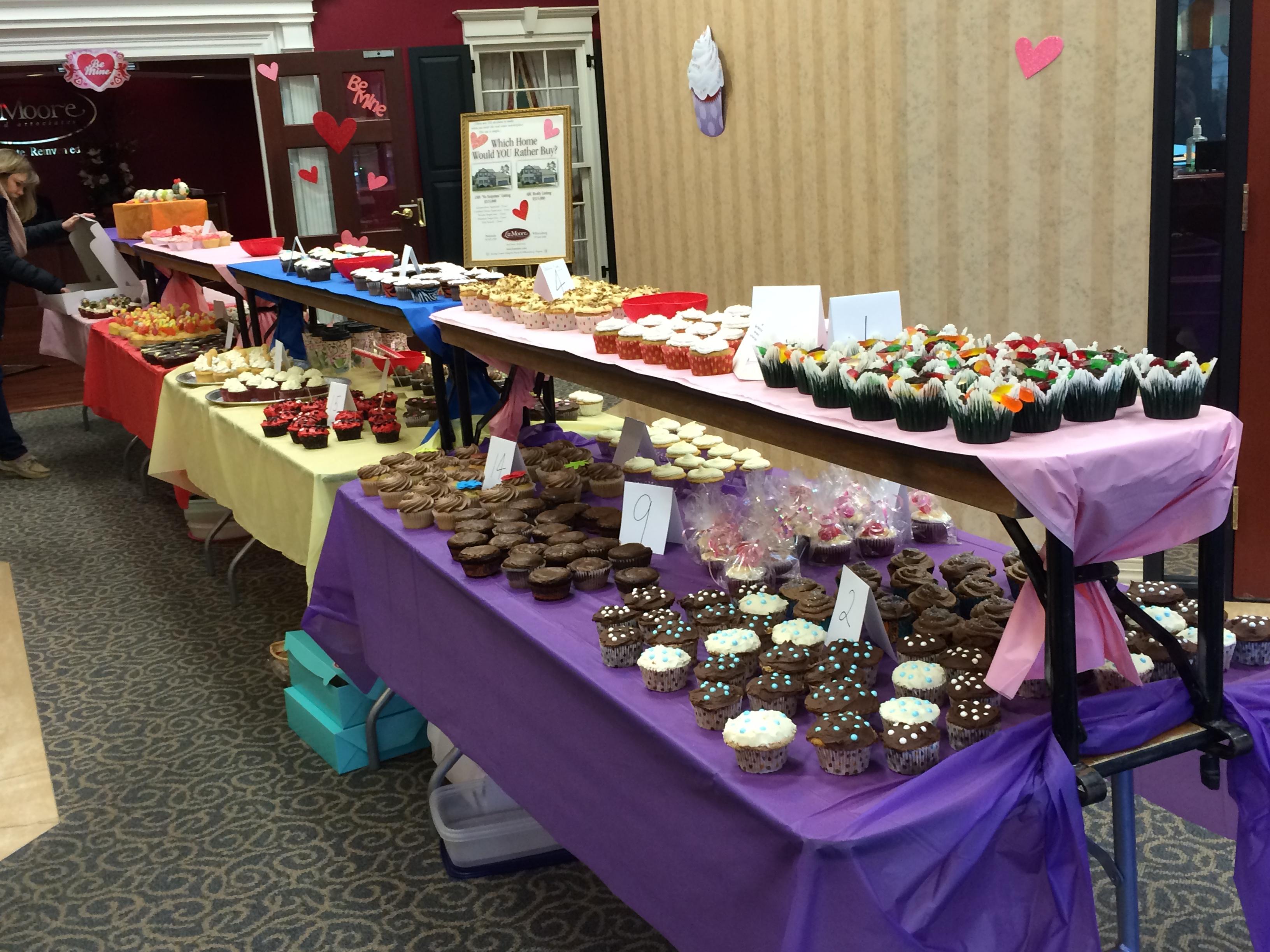 Cupcake Wars for CHKD